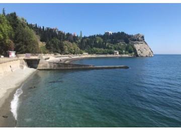 Собственный пляж | Отель Вилла Олива-Арт в Крыму