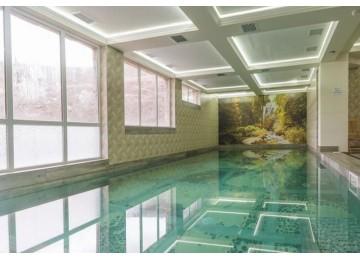 Крытый бассейн  в отеле Вилла Олива-Арт Крым